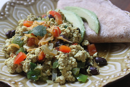 on classic scrambled eggs with this hearty Southwestern tofu scramble ...