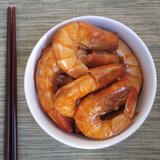 Garlic-Soy Sauce Shrimp