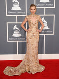 Taylor Swift made a sparkly entrance in a Zuhair Murad gown in 2012.