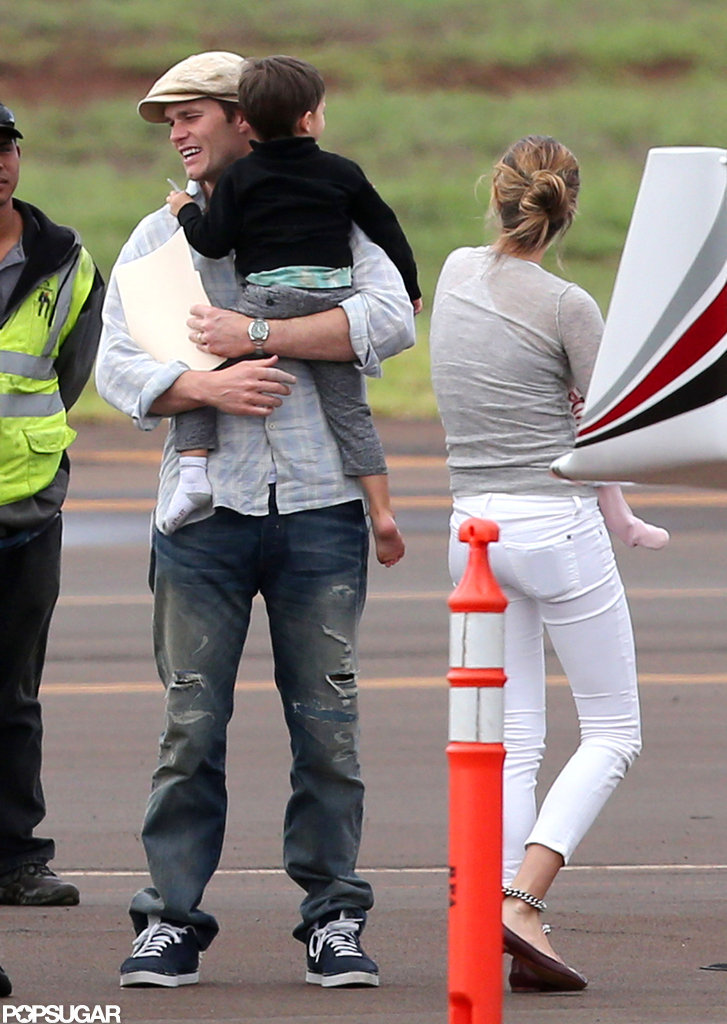 Gisele Jets to Hawaii With Baby Vivian and Her Boys