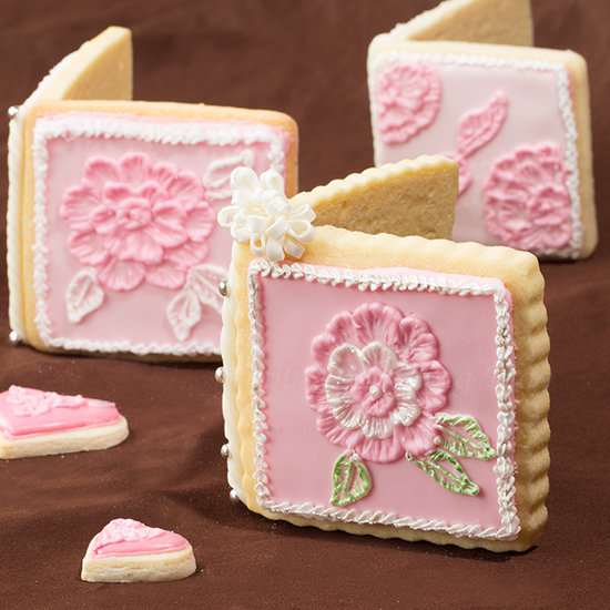 edible 3d sugar cookie card