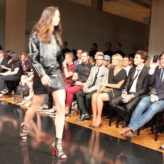 Jessica Gomes looked good in (Ellery) leather.