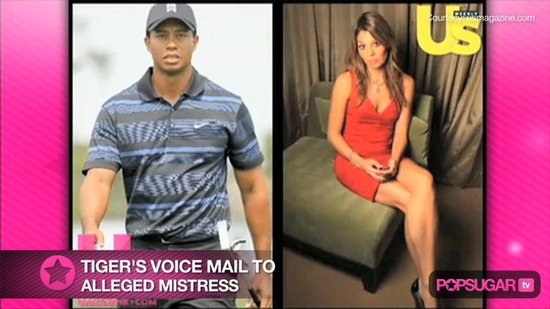 Audio of Tiger's Alleged Mistress Voice Mail