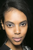 Gray is the new black for Fall, so use the lighter shade for your smoky eye instead, like this look from Richard Chai Love.