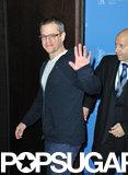 Matt Damon and John Krasinski Join Up in Berlin For Promised Land