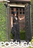 Kim Kardashian left her house to catch a flight to Rio.