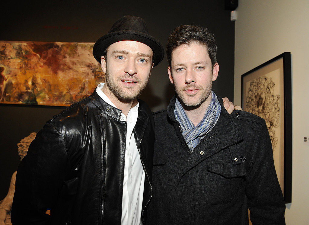 Justin Timberlake and Darren Le Gallo attended the Nothing You Don't Know exhibition in LA.