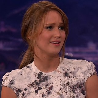 Jennifer Lawrence Talks About John Stamos on Conan (Video)