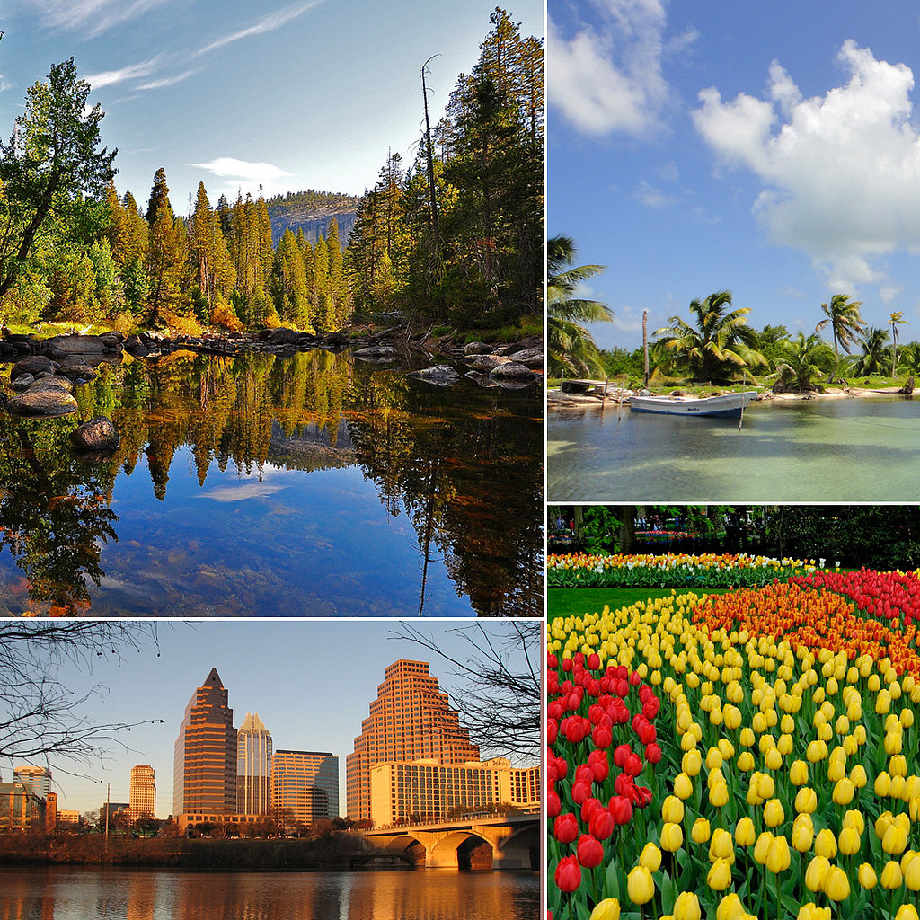 See Ya, Winter: 11 Must-See Places to Visit This Spring