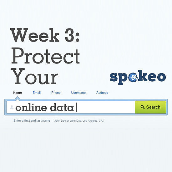 Week 3: Protect Your Online Data