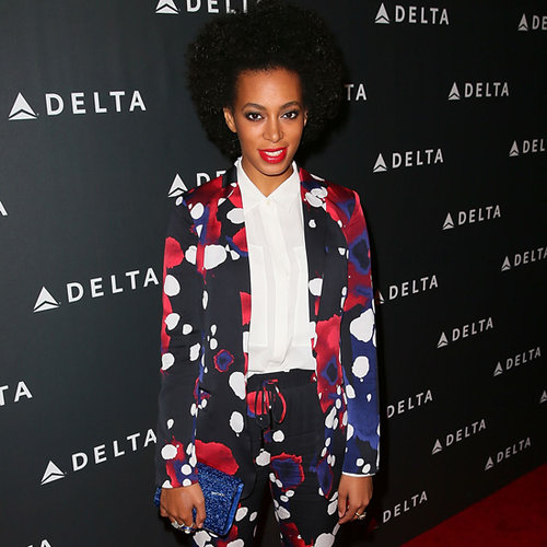 Style Stalking Solange Knowles' Colourful Fashion CV