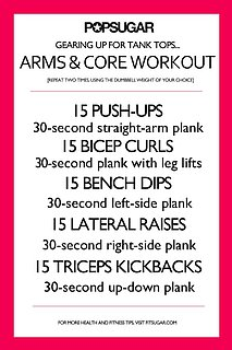 Tank Top Workout