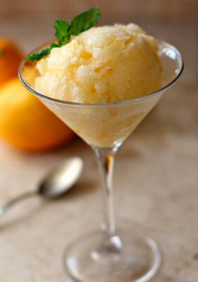 Lemon Sorbet