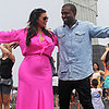 Kim Kardashian and Kanye West at Redeemer Statue in Brazil
