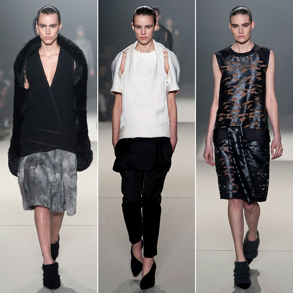 Alexander Wang Fall 2013 Runway