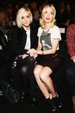 Ashlee Simpson hung out at Rebecca Minkoff yesterday.