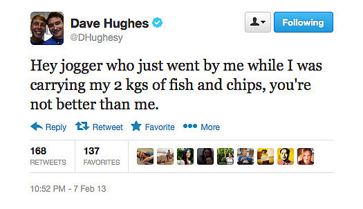 At least your arms are getting a workout with that fish, Dave.