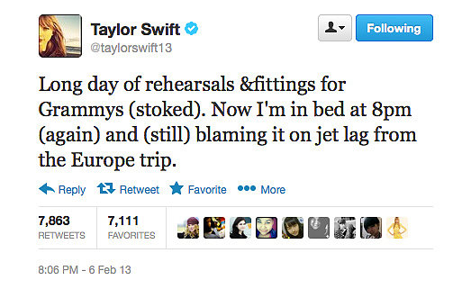 Busy days for Taylor Swift.