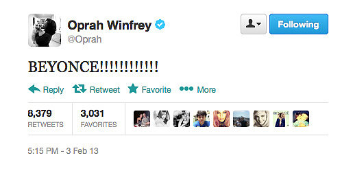 Oprah sums up what we were all thinking after watching Beyonce's amazing Super Bowl performance.