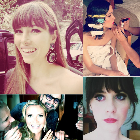 Award Season Beauty: See How Your Favourite Stars Primped Before the Shows