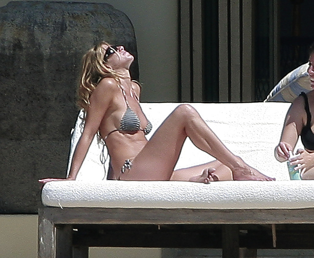 Jennifer Aniston took in the Cabo sun in September 2007.