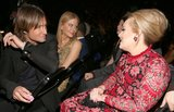 Adele chatted with seatmates Keith Urban and Nicole Kidman.
