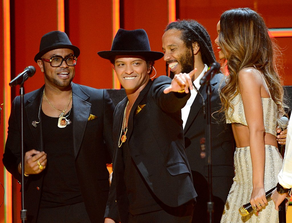 Bruno Mars, Ziggy Marley, and Rihanna got together for a Bob Marley tribute.