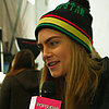 Cara Delevingne Interview at DVF Fall 2013 Show (Video)