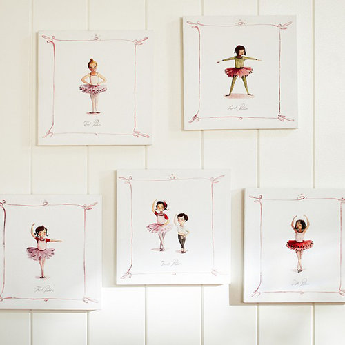 Kids' Room Ballet Decor