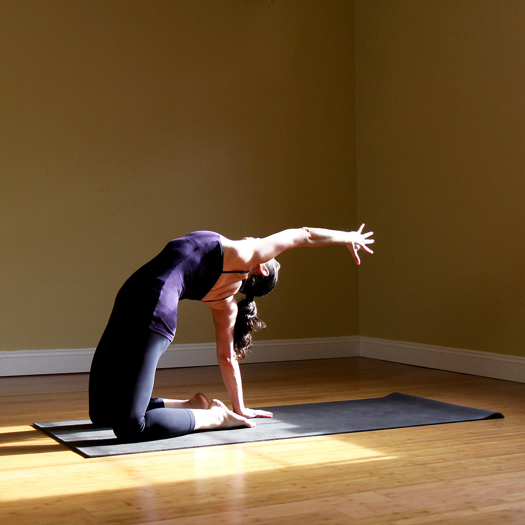 One-Armed Camel Pose
