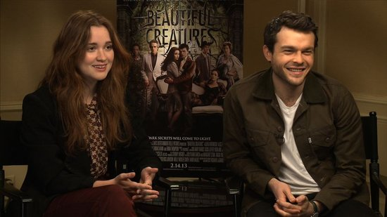 Video: Beautiful Creatures Stars Talk Valentine's Day Horror Stories