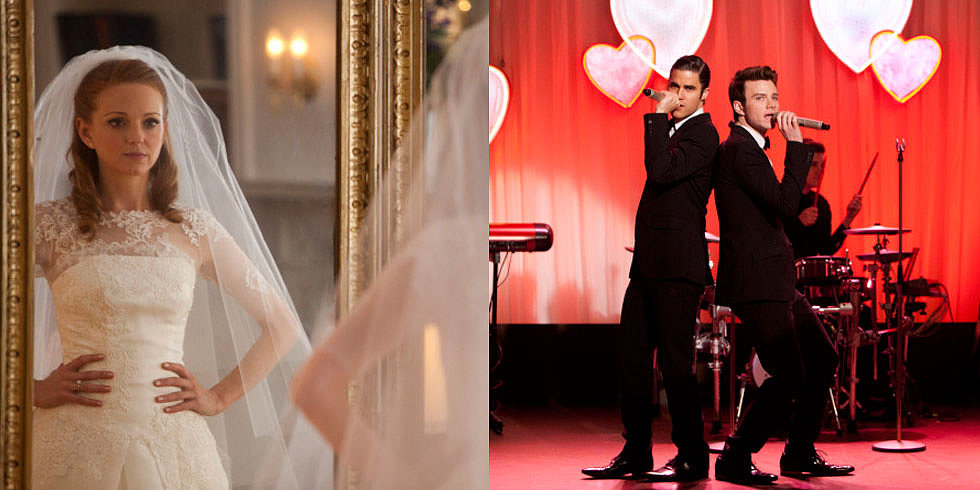 Glee Sneak Peek: Will and Emma's Valentine's Day Wedding!