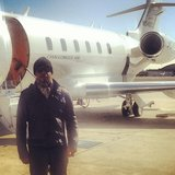 MC Hammer showed off his private plane. Source: Instagram user mchammer