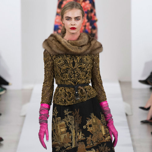 Oscar de la Renta Runway | Fashion Week Fall 2013 Photos