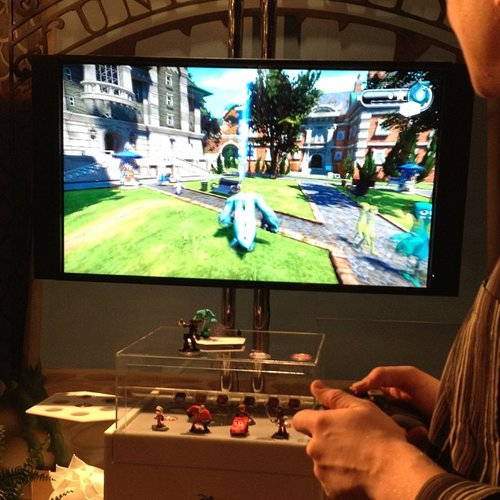 Disney debuted its Disney Infinity gaming initiative that brings Disney characters and movies to life on gaming consoles.