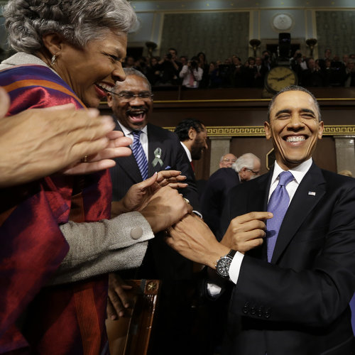 Barack Obama State of the Union Address Pictures