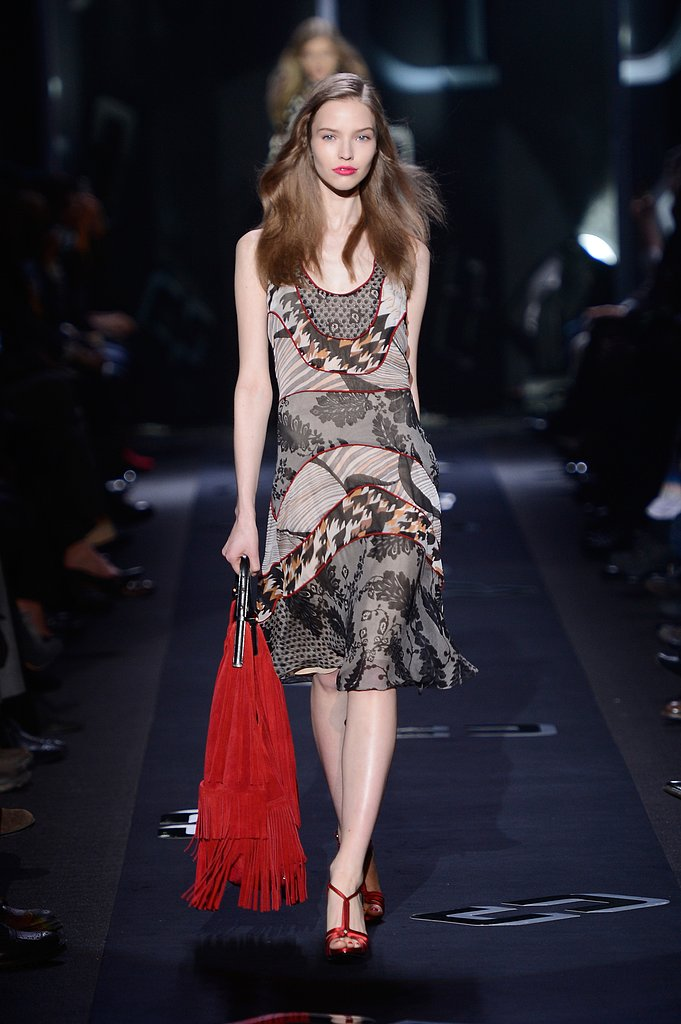 2013 Fall New York Fashion Week: Diane von Furstenberg