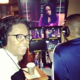 Oprah and Tyler Perry filmed a new TV show for OWN. Source: Twitter user Oprah