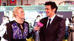 Video: James Franco Arrives at Oz Premiere in a Hot Air Balloon!
