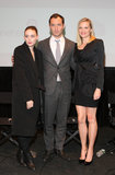 At the NYC screening for Side Effects, Rooney stuck to all black, including an oversize coat and lace-up boots.