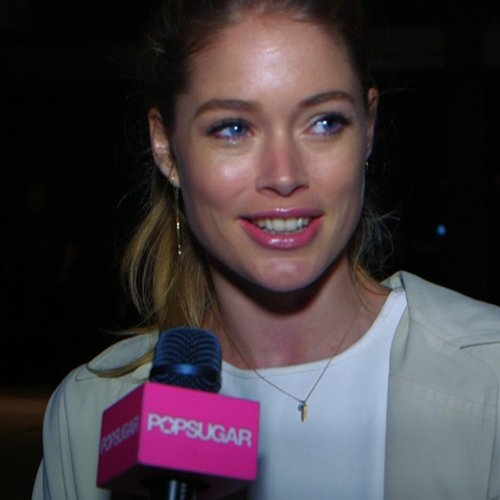 Doutzen Kroes Interview at New York Fashion Week Fall 2013