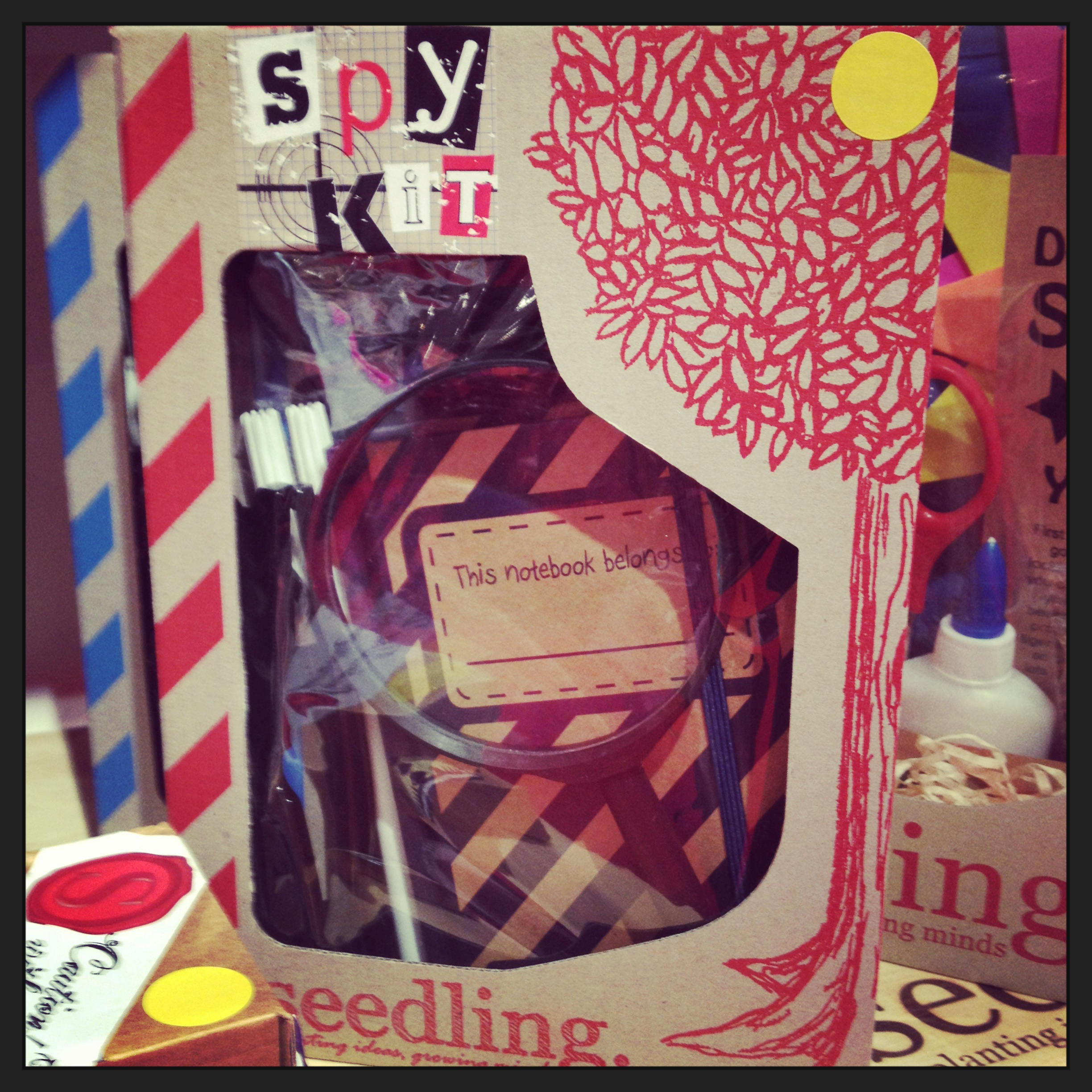 Seedling's cool Spy Kit will make a great gift!
