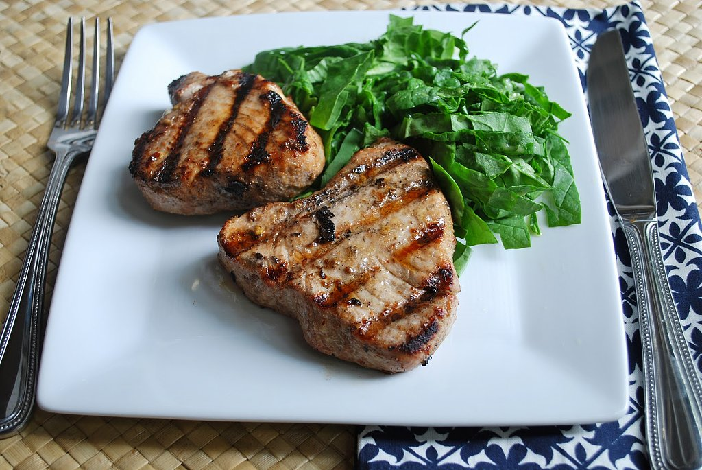 Pomegranate Tuna Steaks