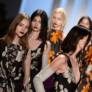 Pictures of Vera Wang Beauty at 2013 Fall NYFW