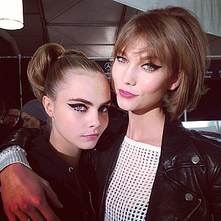 Beauty Instagram: Karlie Kloss, Cara Delevingne Fashion Week