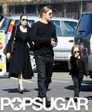 In February, Brad Pitt and Angelina Jolie took Knox and Vivienne on a special Valentine's Day trip to the Natural History Museum in LA.