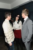Neil Patrick Harris and David Burtka chatted with Katy Perry inside the event.