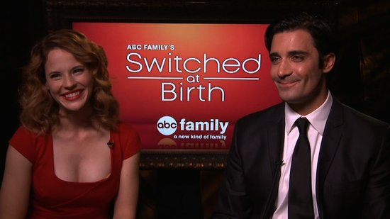 "Katie Leclerc and Gilles Marini on Switched at Birth's ""Love Pentagons"""