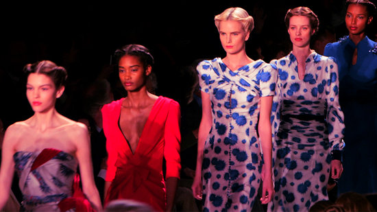 Carolina Herrera Unveils '40s-Style Glamour For Fall '13