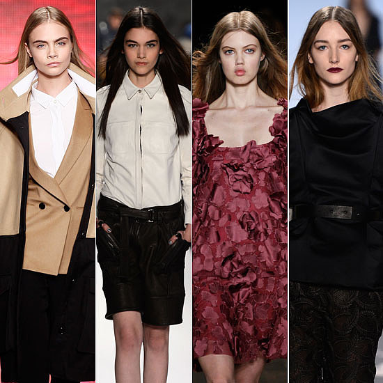2013 Winter Hair Trends From New York Fashion Week